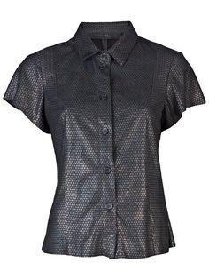 DROME Leather shirt. #drome #cloth #shirt