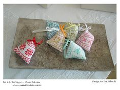 Flores no Jardim - Lee Albrecht: Berlingot - sabor Pitanga 4/6 - Free Pattern