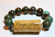 Varnish your wine corks! | creationsbydebi.com