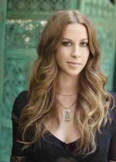 Alanis Morissette- She would DEFINITELY be at my dream dinner with anyone I could invite. Her lyrics are my life.