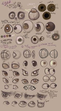 xdraws: Someone pointed out something very perceptive about how I draw. Here's one of my pages of studies I did a little while ago. It was me trying to figure out the shape language of various styles. In essence, I was going backwards, reconstructing the basic parts, and then simplifying them.