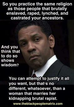 Tell it straight Denzel...love this.