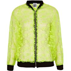 **Warsaw Bomber Jacket by The Ragged Priest (510 CNY) found on Polyvore lace jackets蕾丝夹克20130312