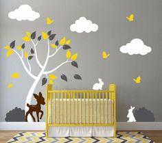 Nursery Tree Decal W
