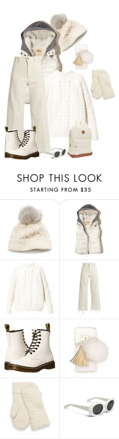 """""""W-White"""" by freida-adams ❤ liked on Polyvore featuring SIJJL, Hollister Co., Diesel, Rachel Comey, Dr. Martens, Ashlyn'd and Aéropostale"""