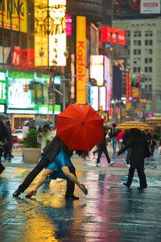 TIMES SQUARE, NYC – MICHAEL JAGGER AND EVITA ARCE (Dancers Among Us by Jordan Matter)
