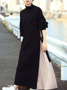 Abaya Fashion, Muslim Fashion, Modest Fashion, Skirt Fashion, Fashion Dresses, Japanese Fashion, Korean Fashion, Athleisure Fashion, Mode Hijab