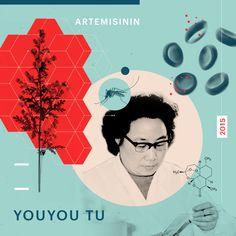 La química farmacéutica Youyou Tu (1930) nació un 30 de diciembre