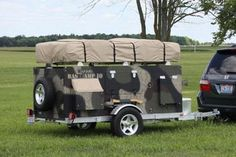 Homebuilt Camper Trailer (with Pictures) - Instructables Diy Camper Trailer Designs, Utility Trailer Camper, Bug Out Trailer, Camping Trailer Diy, Diy Camping, Camper Trailers, Camping Gear, Camping Kitchen, Camping Cooking