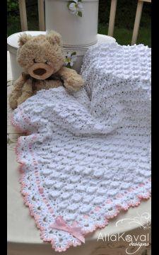 Fluffy Clouds Baby Blanket Pattern Crochet PDF/eBook