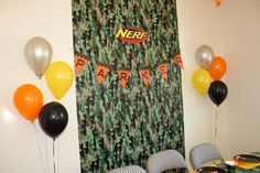 Nerf War Party | CatchMyParty.com