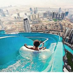 Epic weather slide, Dubai, United Arab Emirates  ~ Photograph By @nois7 #wowplanet