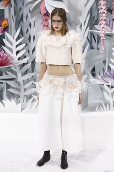 Chanel Couture Spring Summer 2015 Paris - NOWFASHION