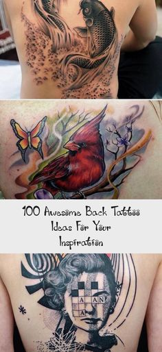 Back tattoo for man - 100 Awesome Back Tattoo Ideas #Sidearmtattoosformen #armta...