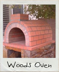 Woods Wood Fired Brick Pizza Oven in Nevada by BrickWood Ovens