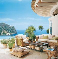 Most Popular Outdoor Beach Patio Design to Relax - Master Home Decor Outdoor Rooms, Outdoor Living, Outdoor Furniture Sets, Outdoor Decor, Beach Patio, Backyard Patio, Pergola Patio, Porch Gazebo, Deco Marine
