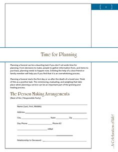 crisis funeral planning guide gravesite transportation get your