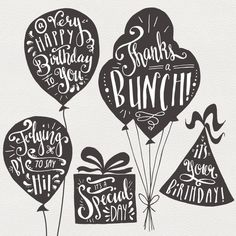 Birthday Wishes Images Party Ideas 26 Trendy Ideas Birthday Balloons Clipart, Balloon Clipart, Happy Birthday Balloons, Birthday Words, Birthday Clips, Art Birthday, Birthday Wishes And Images, Wishes Images, Birthday Greetings