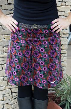 MY AMY, my new favorite skirt #pattern @Andrea / FICTILIS Mueller Jolijou @farbenmix
