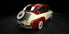 Mis Modelos 3D: Fiat 600 - Retro Prototipo I