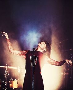 Florence Welch of Florence + The Machine.