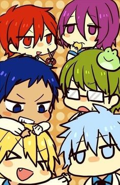 Discovered by Akashi✮ AGUS. Find images and videos about anime, kawaii and kuroko no basket on We Heart It - the app to get lost in what you love. Kuroko Chibi, Anime Chibi, Anime Manga, Anime Art, Anime Backgrounds Wallpapers, Anime Wallpaper Live, Animes Wallpapers, Kuroko No Basket Characters, Midorima Shintarou