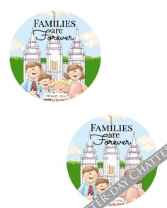 Latter-Day Chatter: 2014 Primary CD Label and Envelope