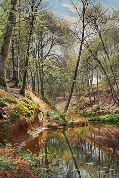 Peder Mørk Mønsted (Peter Mork Monsted) (10 December 1859 — 20 June 1941) was a Danish realist painter