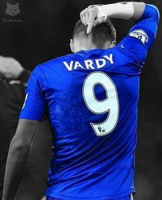 Jamie Vardy making a statement !