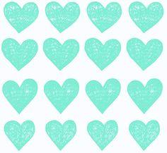 aqua hearts!