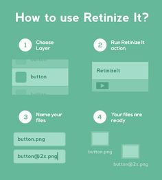 Retinize It: Free Photoshop Action For Slicing Graphics For HD Screens
