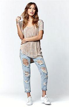 3be541c11 Mineral Wash Slouchy T-Shirt Lifestyle Clothing, Pacsun, Gifts For Teens,  Mineral