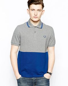 Fred Perry Laurel Wreath | Fred Perry Laurel Wreath Polo Shirt with Block Colour at ASOS