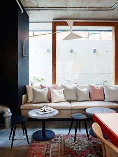 Alex Hotel responds to the overarching concept of the 'Hotel as Home'. Alex Hotel is new boutique hotel in Perth, Australia. Australian Interior Design, Interior Design Awards, Home Interior Design, Commercial Design, Commercial Interiors, Alex Hotel, Casa Hotel, Hotel Safe, Hotel Concept