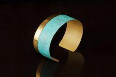 Patinated Nu Gold Linea Cuff | Modern Artifacts