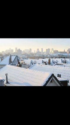 Winter in Vreewijk,  Rotterdam