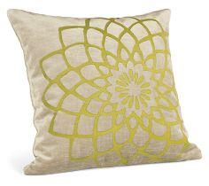 Mum Citron Pillow #roomandboard