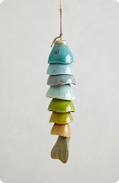 knock this anthropologie wind chime off w/plastic easter egg halves go to site for instructions