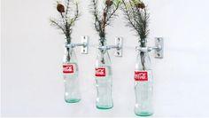 [Coke Bottle 10] 환경도 생각하고 눈도 즐거운 코카-콜라 병의 재활용 방법! 코카-콜라의 병에 식물을 꽂으면 너무나 예쁜 화분으로 변!신! 다 마신 코카-콜라 병도 다시 보게 되네요~