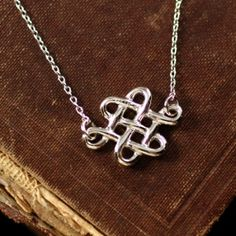The Celtic eternity knot an ancient symbol of an interwoven spiritual path, endless love and friendship. The eternity knot is a symmetrical knot that ties into its self without a visible beginning …
