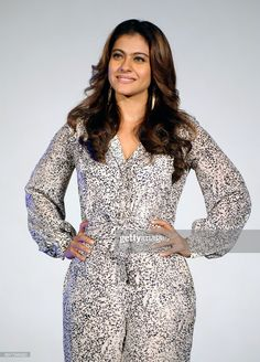 Indian Bollywood actress Kajol Devgn attends the song launch for the...