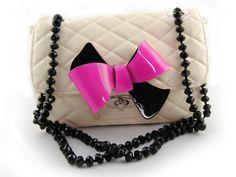 sweet papillon crystal bag