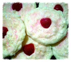 Pink Sugared Strawberry marshmallow sugar cookie scented wax melts from Www.victoriasdesignercreations.com