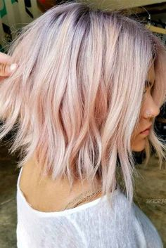 Hair Color Crazy Shoulder Length Haircuts 39 Ideas Haarfarbe Crazy Schulterlange Frisuren 39 I Cute Hairstyles For Short Hair, Down Hairstyles, Trendy Hairstyles, Medium Hair Styles, Short Hair Styles, Pelo Multicolor, Shoulder Hair, Above Shoulder Length Hair, Hair Pictures