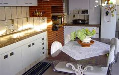 Mais uma opção de churrasqueira integrada na cozinha.