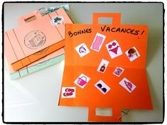 valise de voyage, vacances, été, bricolage enfant