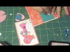 How to Make a pocket card out of an envelope Manila Folder, Scrapbook Albums, Scrapbooking, Pocket Cards, Card Stock, Recycling, Card Making, Playing Cards, Paper Bags