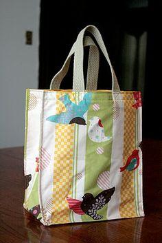 decoro sin decoro:Hacer tus propias bolsas de tela