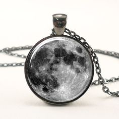 I found 'Full Moon Necklace In Gunmetal Black' on Wish, check it out!