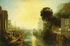 William Turner(1775ー1851)「Didon construisant Carthage」